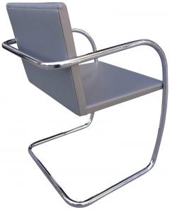 Ludwig Mies Van Der Rohe Midcentury Brno Chairs in Leather by Mies van der Rohe for Knoll - 556280
