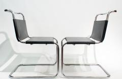 Ludwig Mies Van Der Rohe Mies van der Rohe MR10 Sling Lounge Chairs - 1933222