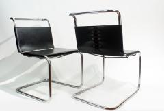 Ludwig Mies Van Der Rohe Mies van der Rohe MR10 Sling Lounge Chairs - 1933223