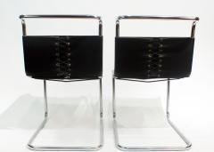 Ludwig Mies Van Der Rohe Mies van der Rohe MR10 Sling Lounge Chairs - 1933226