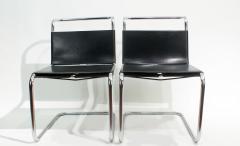 Ludwig Mies Van Der Rohe Mies van der Rohe MR10 Sling Lounge Chairs - 1933228