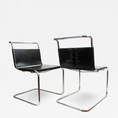 Ludwig Mies Van Der Rohe Mies van der Rohe MR10 Sling Lounge Chairs - 1934846