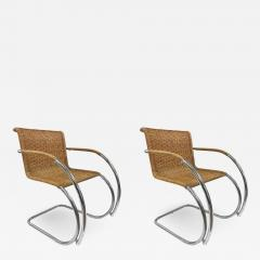 Ludwig Mies Van Der Rohe Pair of Ludwig Mies van der Rohe MR20 Chairs - 1039666