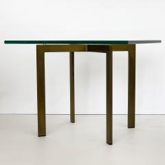 Ludwig Mies Van Der Rohe Pair of Mies van der Rohe Bronze Barcelona Side Tables - 1011018
