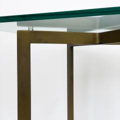 Ludwig Mies Van Der Rohe Pair of Mies van der Rohe Bronze Barcelona Side Tables - 1011019