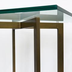 Ludwig Mies Van Der Rohe Pair of Mies van der Rohe Bronze Barcelona Side Tables - 1011022
