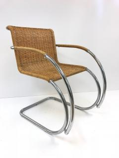 Ludwig Mies Van Der Rohe Set Of Four Ludwig Mies Van Der Rohe MR20 Chairs