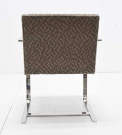 Ludwig Mies Van Der Rohe Set of Four Mies van der Rohe Brno Chairs in Mohair - 1327574