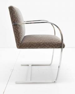 Ludwig Mies Van Der Rohe Set of Four Mies van der Rohe Brno Chairs in Mohair - 1327576