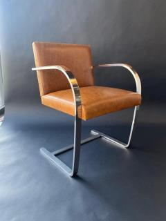 Ludwig Mies Van Der Rohe Set of Six Brno Chairs by Mies Van Der Rohe - 1982898