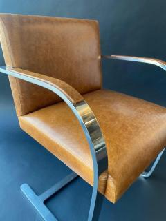 Ludwig Mies Van Der Rohe Set of Six Brno Chairs by Mies Van Der Rohe - 1982901