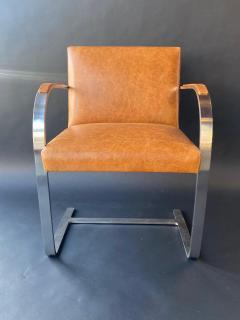 Ludwig Mies Van Der Rohe Set of Six Brno Chairs by Mies Van Der Rohe - 1982902