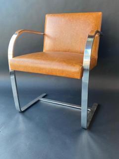 Ludwig Mies Van Der Rohe Set of Six Brno Chairs by Mies Van Der Rohe - 1982903