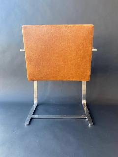 Ludwig Mies Van Der Rohe Set of Six Brno Chairs by Mies Van Der Rohe - 1982907