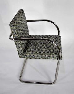 Ludwig Mies Van Der Rohe Set of Ten Tubular Brno Chairs by Knoll - 1244532