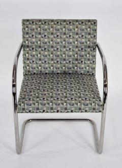 Ludwig Mies Van Der Rohe Set of Ten Tubular Brno Chairs by Knoll - 1244534