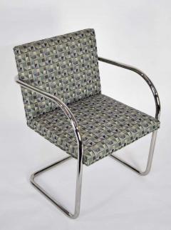 Ludwig Mies Van Der Rohe Set of Ten Tubular Brno Chairs by Knoll - 1244537