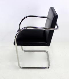 Ludwig Mies Van Der Rohe Six Mid Century Modern Armchairs by Mies Van Der Rohe for Knoll International - 1150630