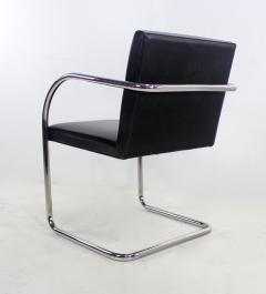 Ludwig Mies Van Der Rohe Six Mid Century Modern Armchairs by Mies Van Der Rohe for Knoll International - 1150631
