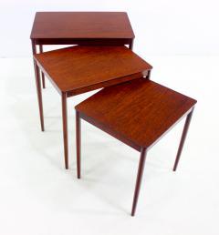 Ludwig Pontoppidan Danish Modern Nesting Tables Designed By Ludwig  Pontoppidan   315792