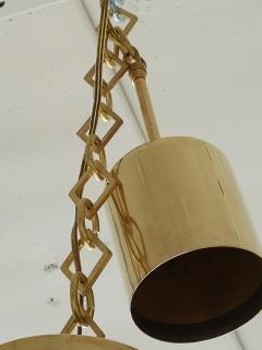 Luigi Caccia Dominioni C Dominioni for Azucena Pair of Mid Century Modern Italian Glass Pendants - 655344