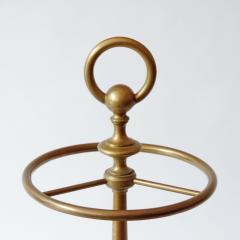 Luigi Caccia Dominioni Monumental Luigi Caccia Dominioni Brass Umbrella Stand for Azucena Italy 1949 - 1951940