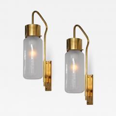 Luigi Caccia Dominioni Pair of Wall Lights Model LP 10 - 1257215