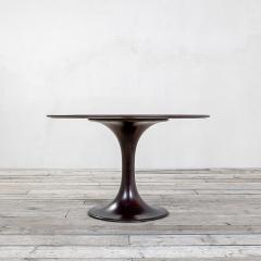 Luigi Massoni 20th Century Luigi Massoni Round Table Model Clessidra for Mobilia - 2032169