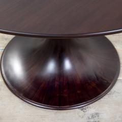 Luigi Massoni 20th Century Luigi Massoni Round Table Model Clessidra for Mobilia - 2032172