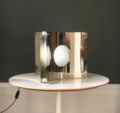 Luigi Massoni Taw Chrome Table Lamp - 919956