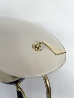 Lumen Milano Italian Mid Century Modern Metal and Brass Floor Lamp by Lumen 1950s - 1941874