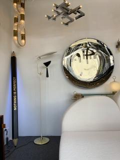 Lumen Milano Italian Mid Century Modern Metal and Brass Floor Lamp by Lumen 1950s - 1941882