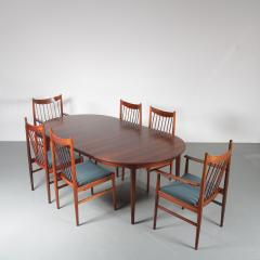 Luxurious Dining set by Arne Vodder for Sibast Denmark 1960 - 1550032