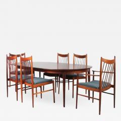 Luxurious Dining set by Arne Vodder for Sibast Denmark 1960 - 1551246