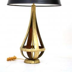 Luxurious Lamps in Bronze Mexican Modernist Table Lamps by Arturo Pani 1950s - 1507394