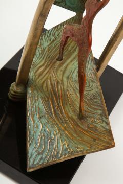 Lynn Rae Lowe Bronze Sculpture - 1528444