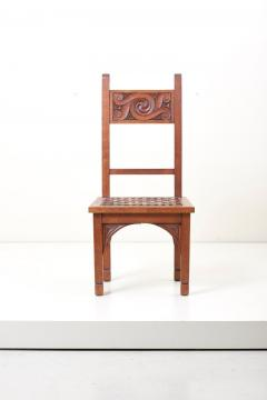 M Jacques Philippe Set of Four Art Deco 1930s Dining Chairs by M Jacques Philippe France - 1044988