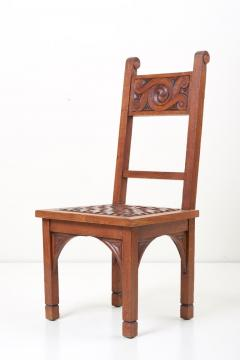 M Jacques Philippe Set of Four Art Deco 1930s Dining Chairs by M Jacques Philippe France - 1044992