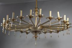 M V M Cappellin Co Monumental Chandelier by MVM Cappellin Co Italy circa 1925 - 1146170
