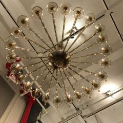 M V M Cappellin Co Monumental Chandelier by MVM Cappellin Co Italy circa 1925 - 1146344