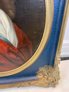 MAGNIFICENT ANTIQUE PORTRAIT OF ARISTOCRAT OIL PAINTING - 1555096