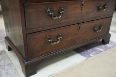MAHOGANY CHEST OF DRAWERS WITH BRUSHING SLIDE - 924745
