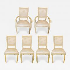 MCM Italian Set of 6 Custom Dining Chairs - 1605252