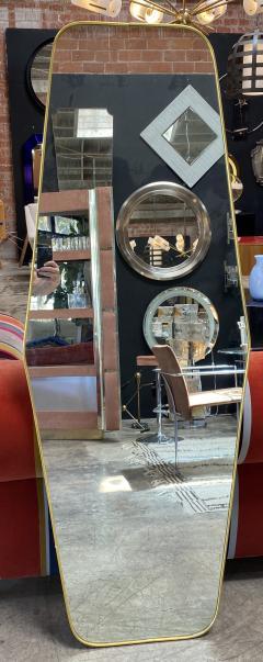 MId Century Oversize Sculptural Mirror Italy 1950 - 2100015
