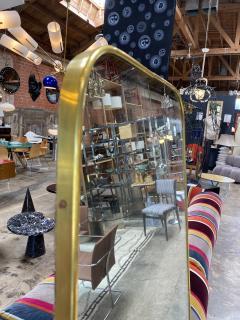 MId Century Oversize Sculptural Mirror Italy 1950 - 2100017