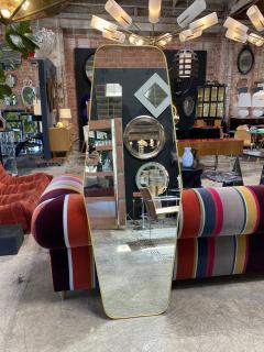 MId Century Oversize Sculptural Mirror Italy 1950 - 2100019