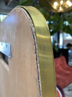 MId Century Oversize Sculptural Mirror Italy 1950 - 2100022