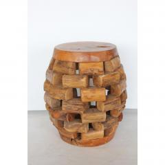 MODERN HANDMADE ACCENT TABLE OR STOOL - 1046656