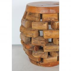 MODERN HANDMADE ACCENT TABLE OR STOOL - 1046657