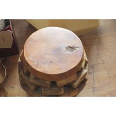 MODERN HANDMADE ACCENT TABLE OR STOOL - 1046658